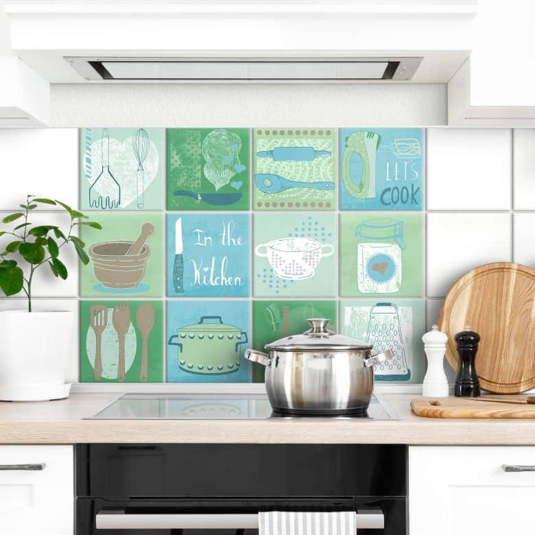 Adesivi per piastrelle Loske - In cucina
