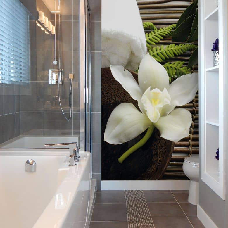 Wellness Orchid - Photo Wallpaper