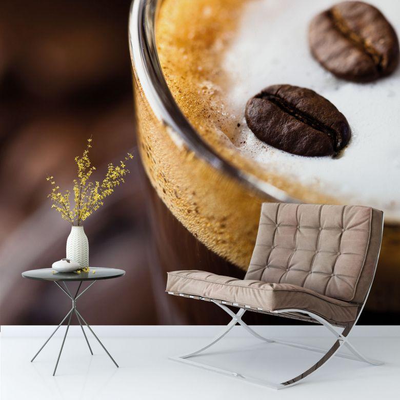 Fototapete Coffee 2 - 240x260 cm