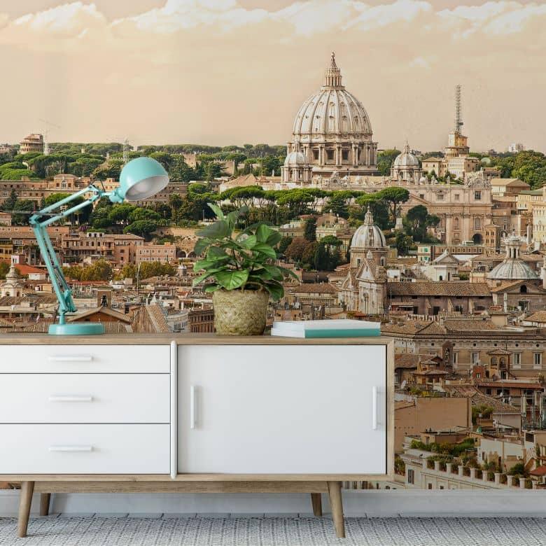 Rome Panorama - Photo Wallpaper