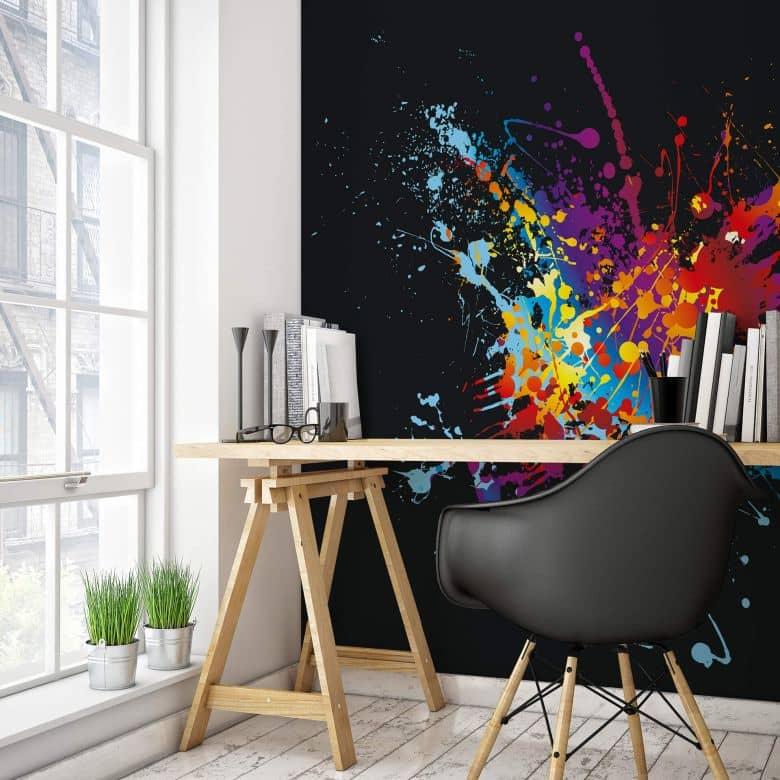 Colour Explosion - Photo Wallpaper