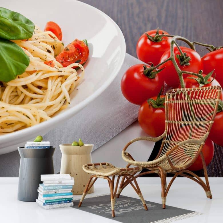 Fototapete Pasta Italiana - 384x260 cm