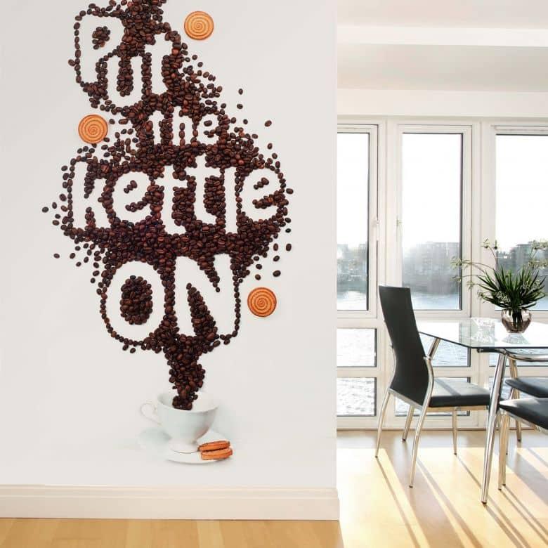 Fototapete Belenko - Put the kettle on - 144x260 cm