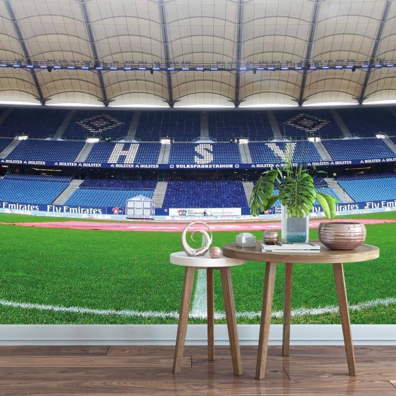 Fototapete HSV Arena Tag