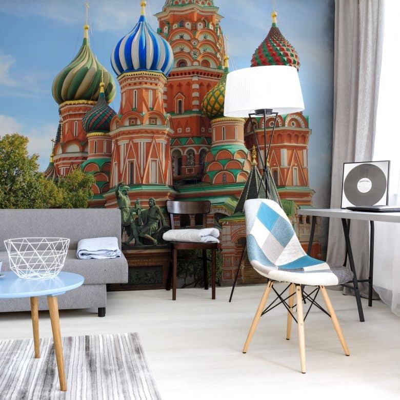 Fototapete St. Basilius Kathedrale Moskau - 192x260 cm