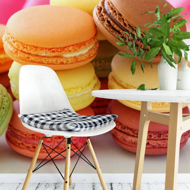 Fototapete Sweet Macarons