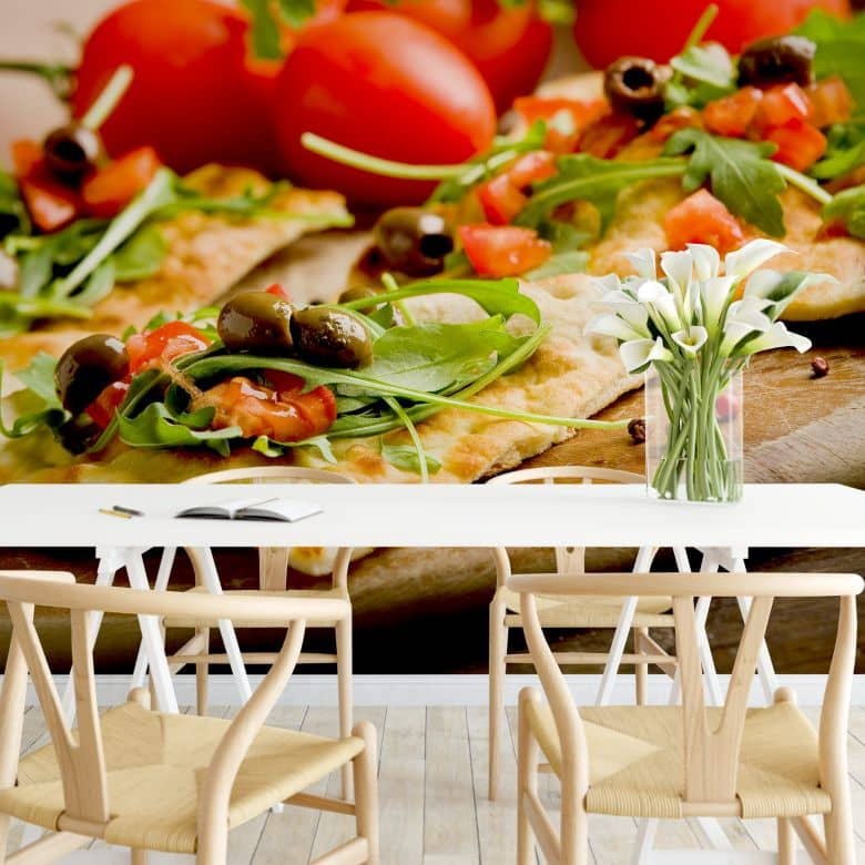 Italian Pizza - Photo Wallpaper