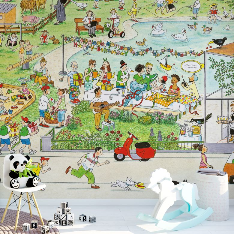 Wimmel - Parc in Summer - Photo Wallpaper