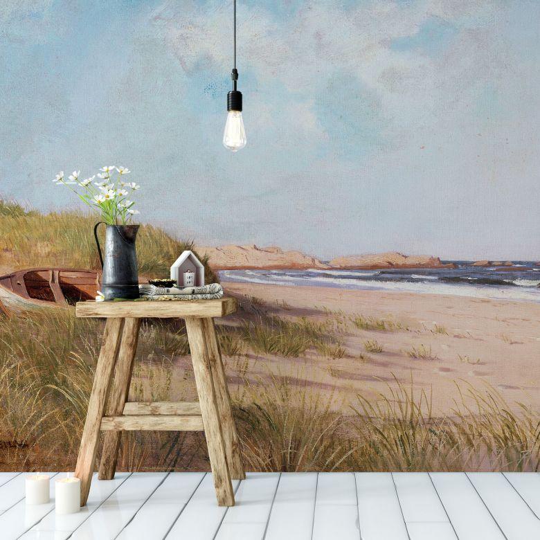 Papier peint photo - Silva - Sur la plage - Panorama