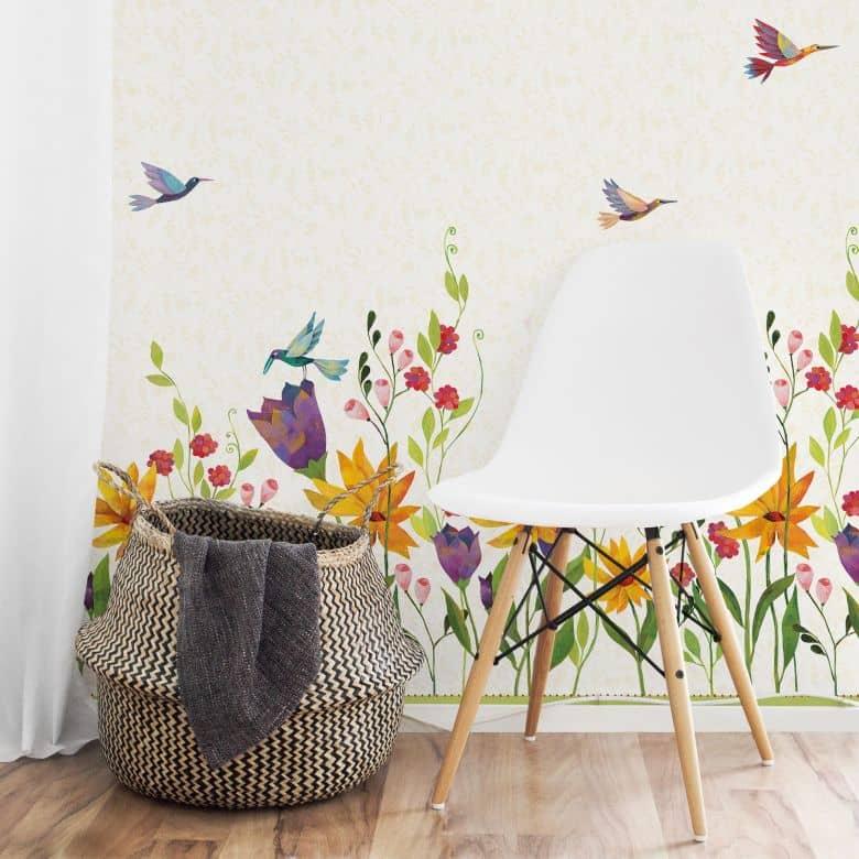 Photo wallpaper Loske – Flower poetry