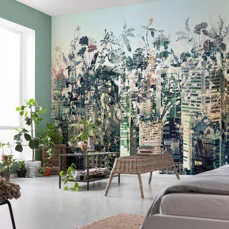 Photo Wallpaper Urban Jungle