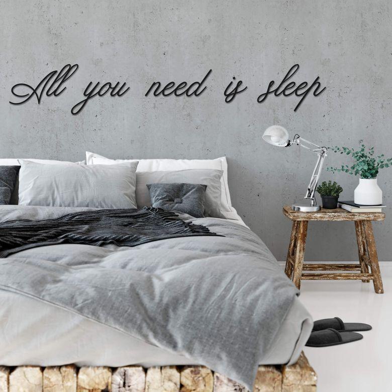 Fototapete - All you need is sleep