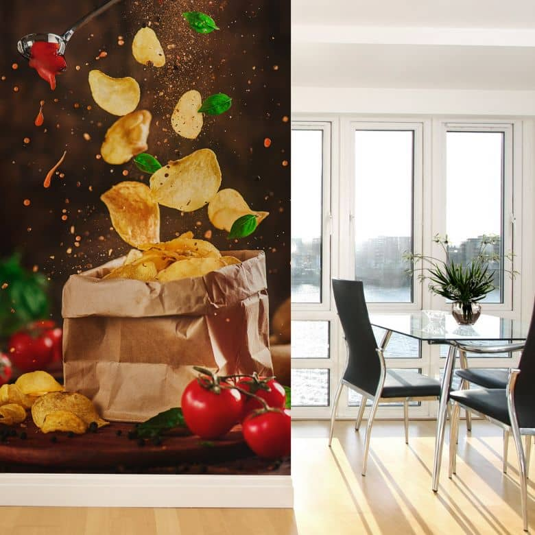 Fototapete Belenko - Lift me up 01 - 144x260 cm