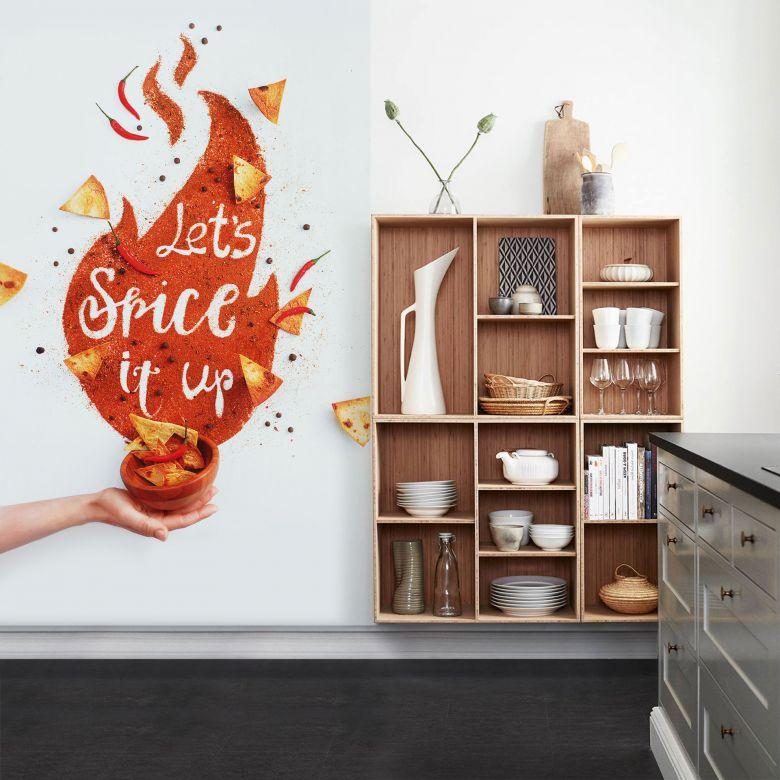 Fototapete Belenko - Let's spice it up - 144x260 cm