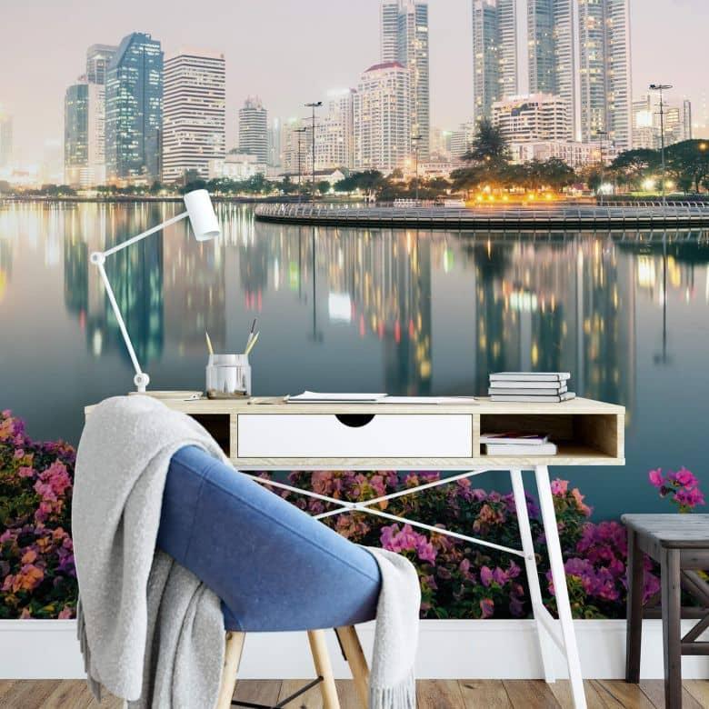 Fototapete Colombo - Bangkok seine Lichter
