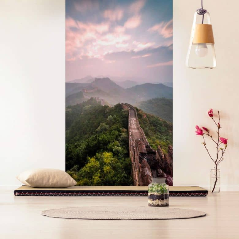 Fototapete Colombo - Die Chinesische Mauer - 144x260 cm