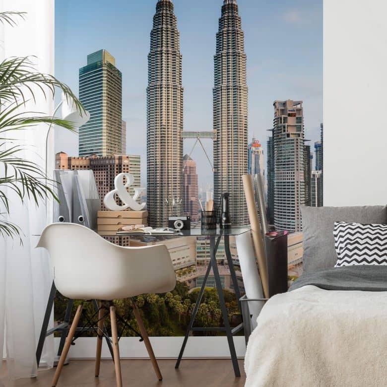 Fototapete Colombo - Petronas Towers in Kuala Lumpur