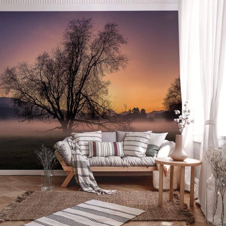 Fototapete Cuadrado - The Fog - 384x260 cm