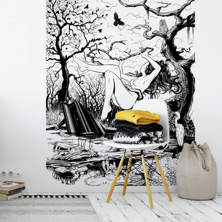 Drawstore - Fototapete  - Swampland