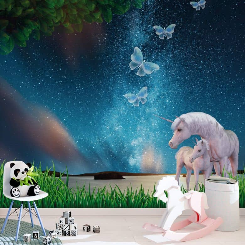 Photo Wallpaper Unicorn Dream World 288x260 cm