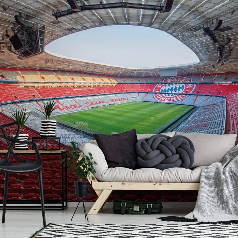 Photo Wallpaper Bayern Munich Stadium Mia san mia