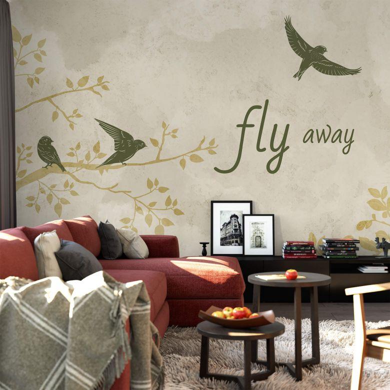 Fototapete - Fly away
