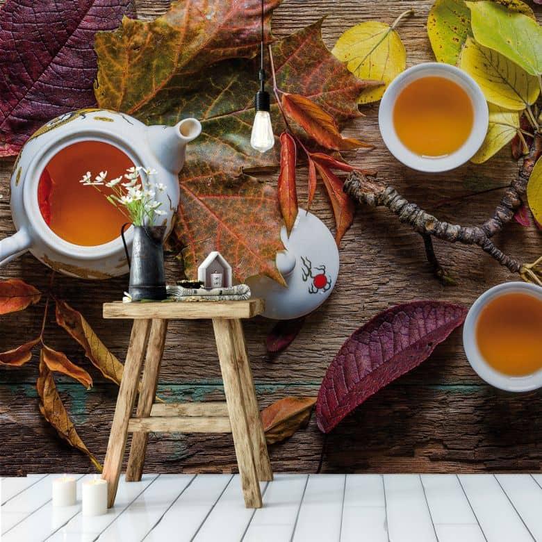 Fototapete Aristov - Tea of September