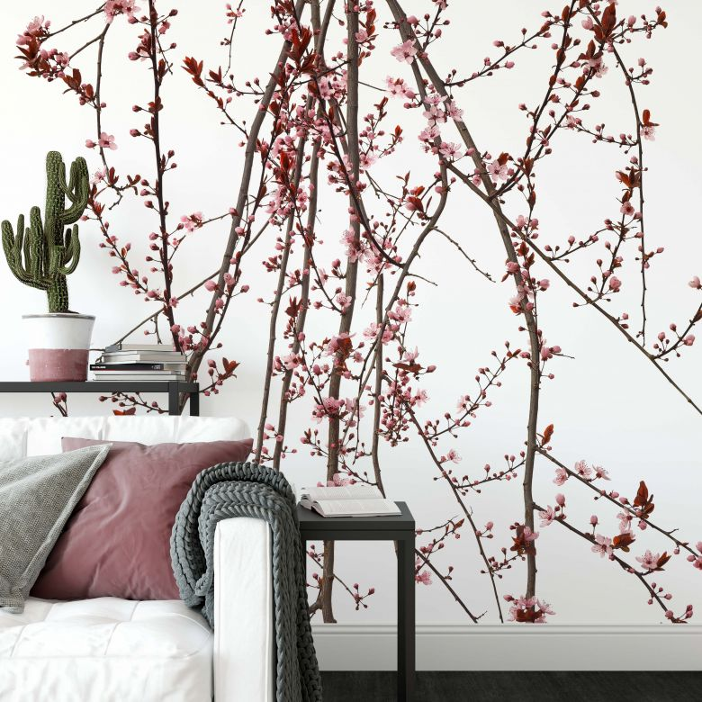 Photo Wallpaper Kadam - Flora Almond Tree