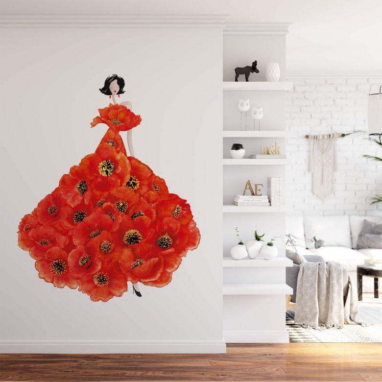 Fototapete Korenkova - Fashion Poppies