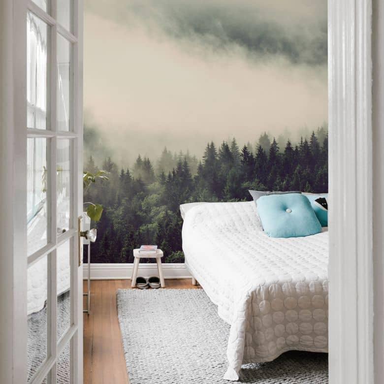 Photo Wallpaper – Forest Nebula