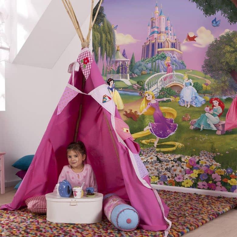Fototapete Disney Princess Sonnenuntergang