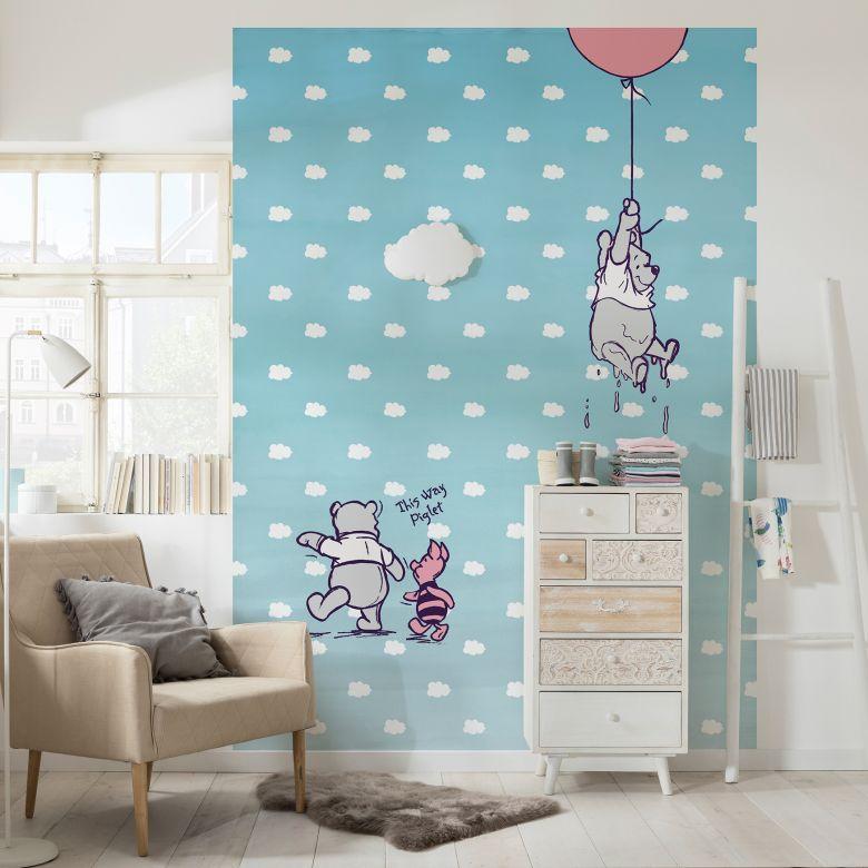 Photo wallpaper Winnie the Pooh – Piglet