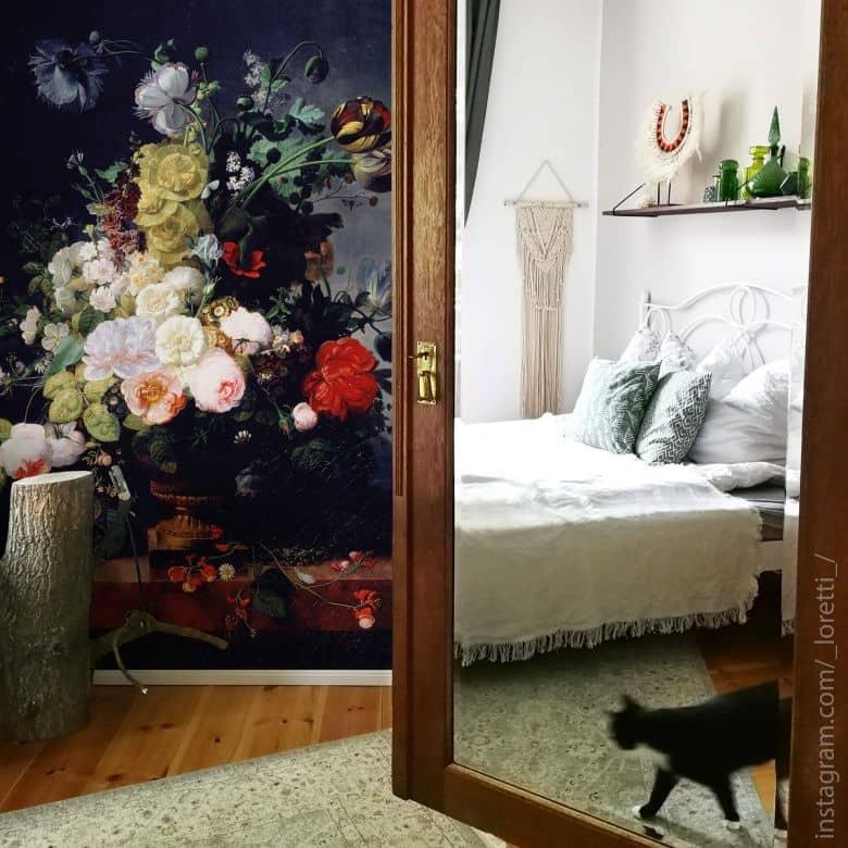 Fototapete Prevost - Stillleben mit Blumen - 192x260 cm