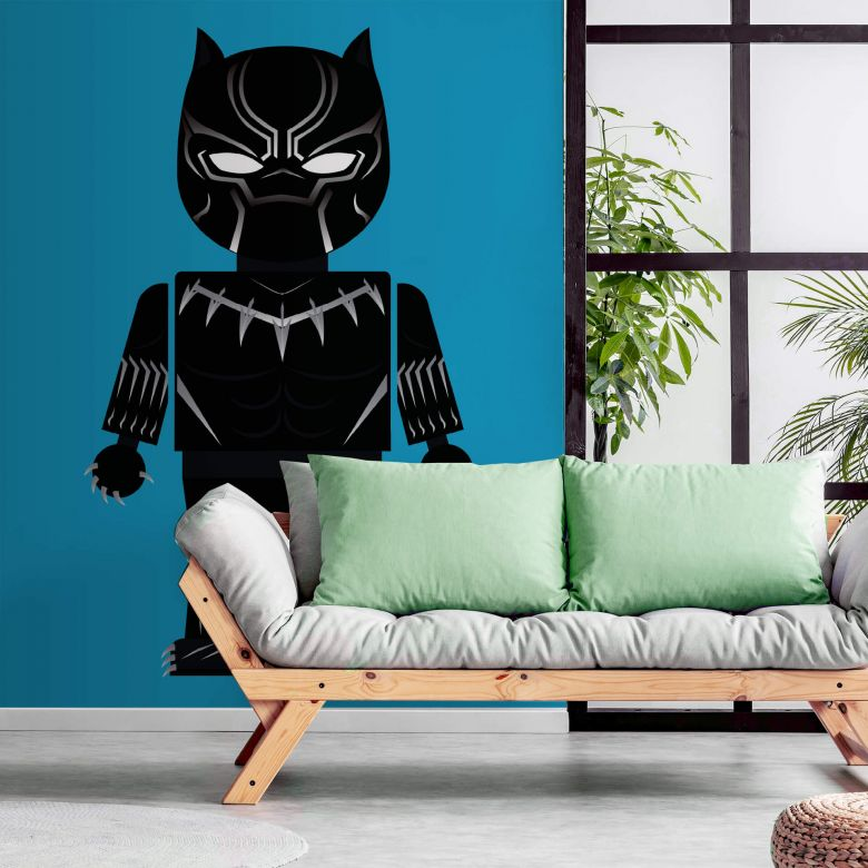 Fototapete Gomes - Black Panther Spielzeug