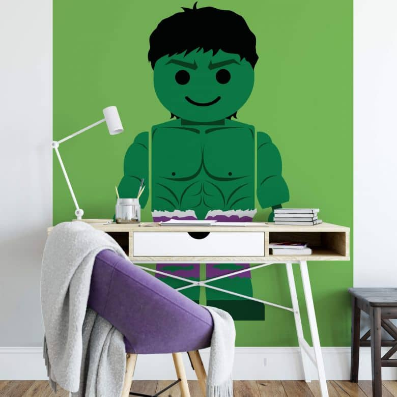 Fototapete Gomes - The Hulk Spielzeug