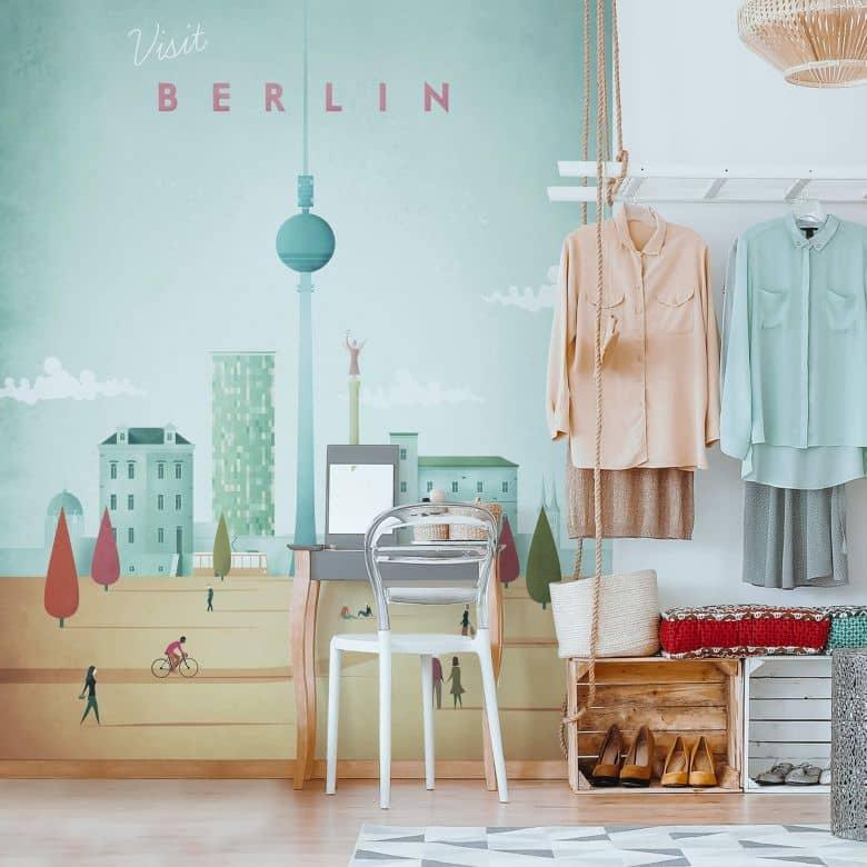 Fototapete Rivers - Berlin