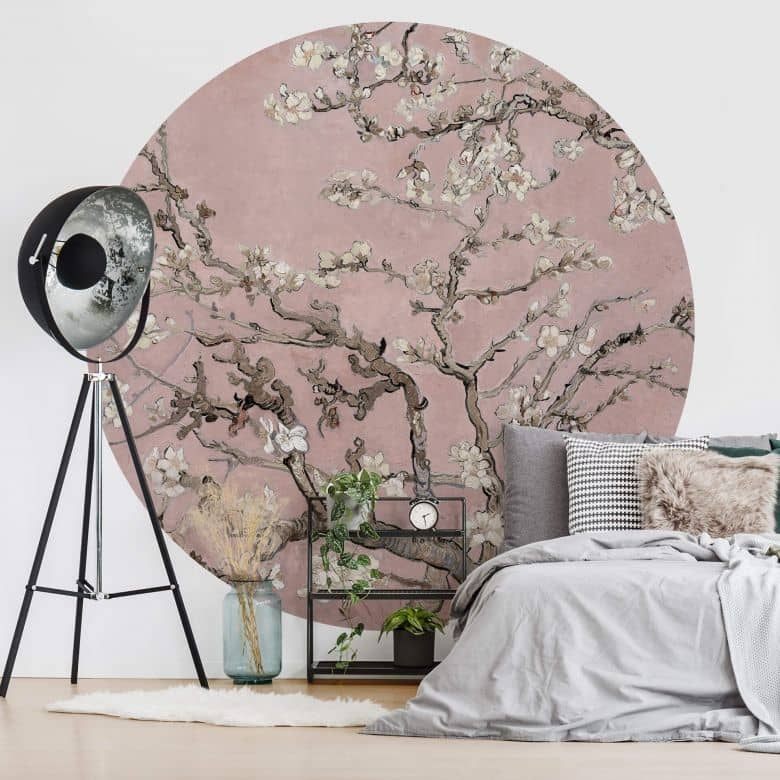Fototapete van Gogh - Mandelblüte rosé - Rund