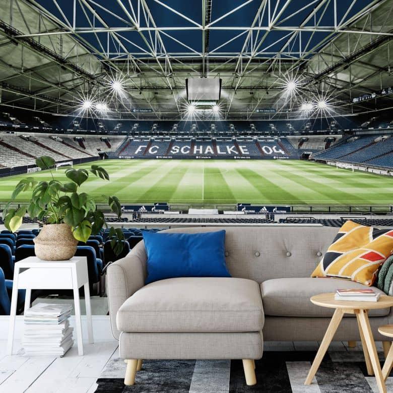 Fototapete Schalke 04 Arena Tribüne