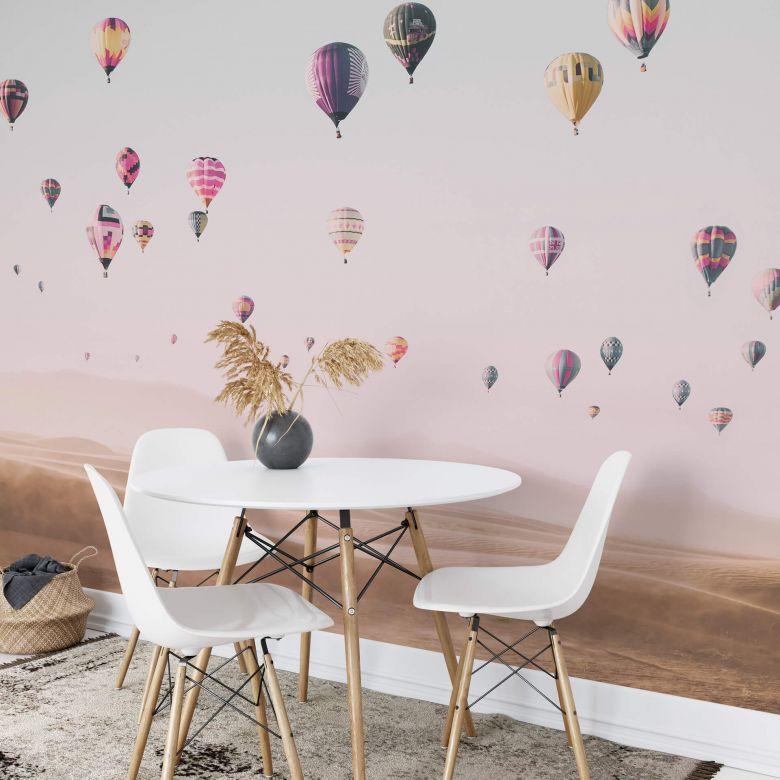 Fototapete Sisi & Seb - Heißluftballons - 384x260 cm