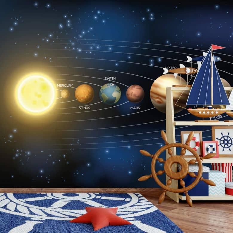 Fototapete Unser Sonnensystem