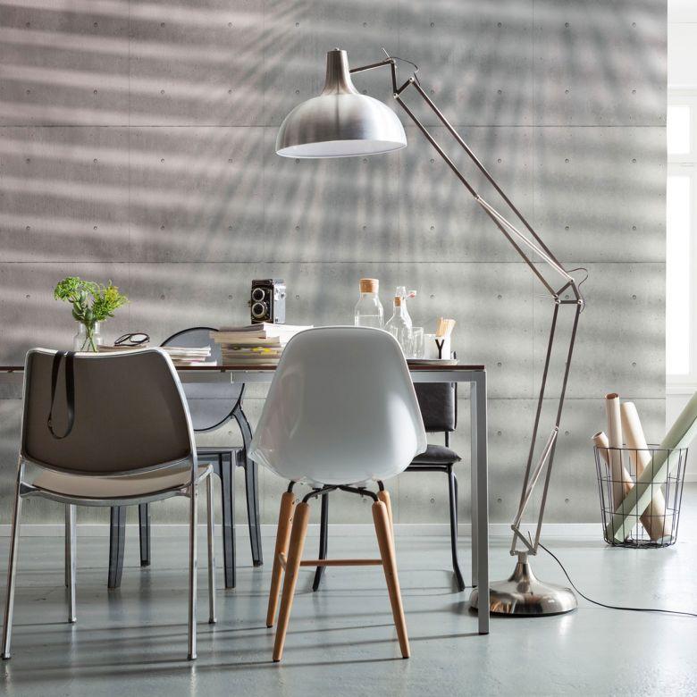 Photo Wallpaper Fleece - Shadows