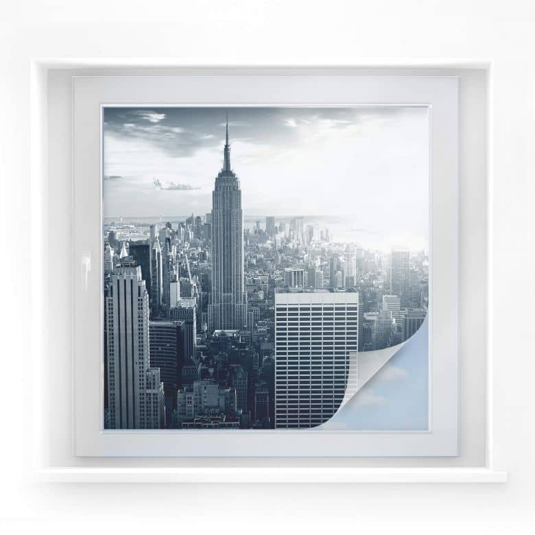 Sichtschutzfolie The Empire State Building - quadr
