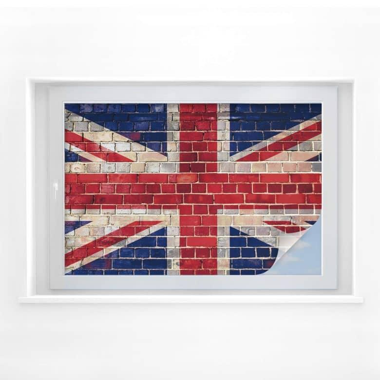 Window foil Union Jack Wall