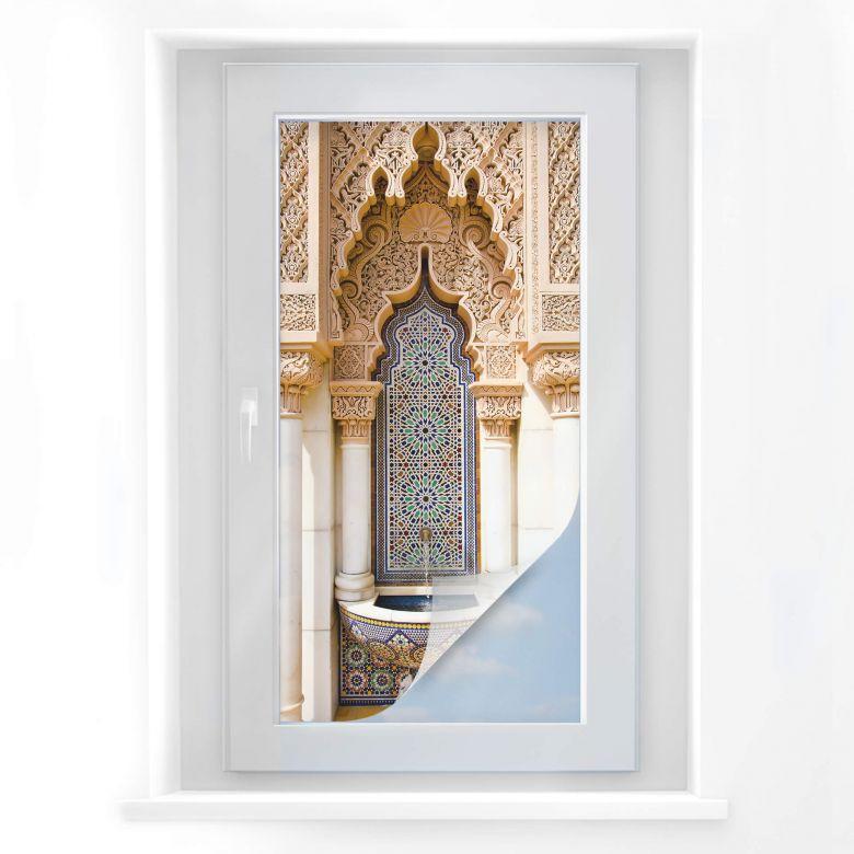 Raamfolie Marokko – panorama