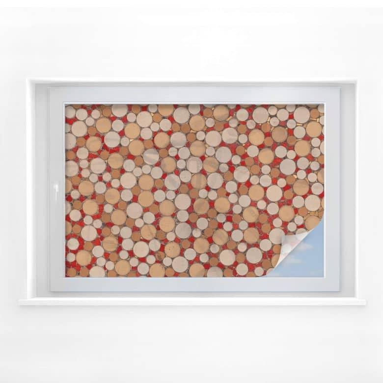 Sichtschutzfolie Mosaik 01