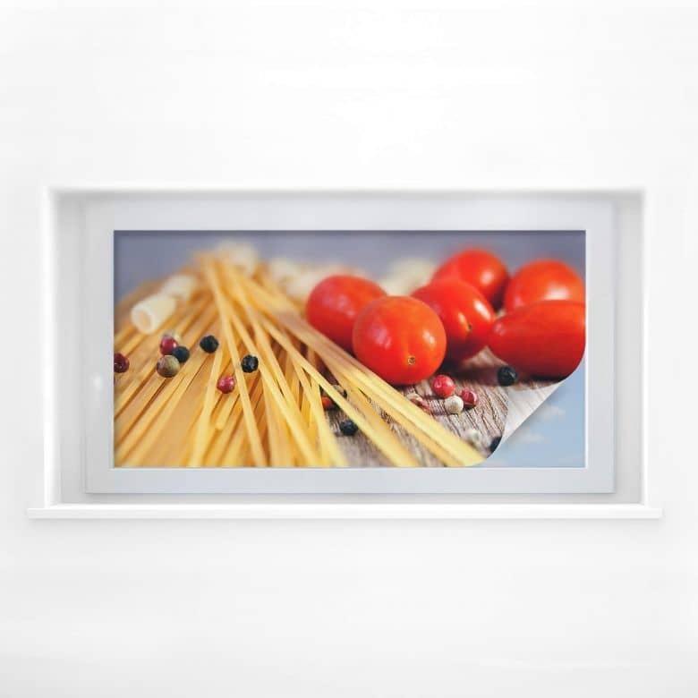 Sichtschutzfolie Spaghetti alla mamma - Panorama
