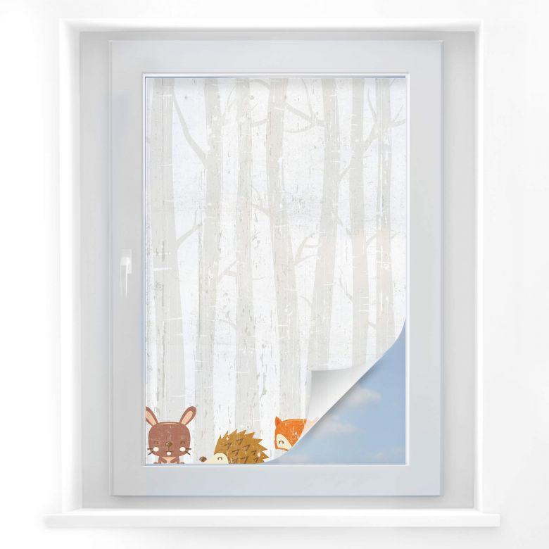 Sichtschutz Waldtiere