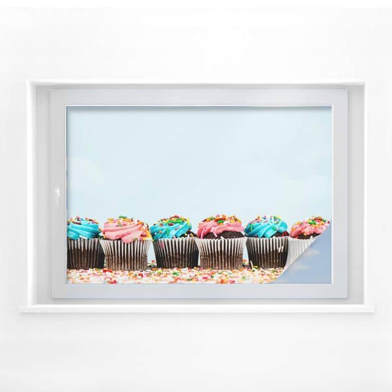 Window foil Party Cupcakes