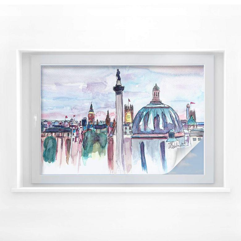Sichtschutzfolie Bleichner - London Skyline