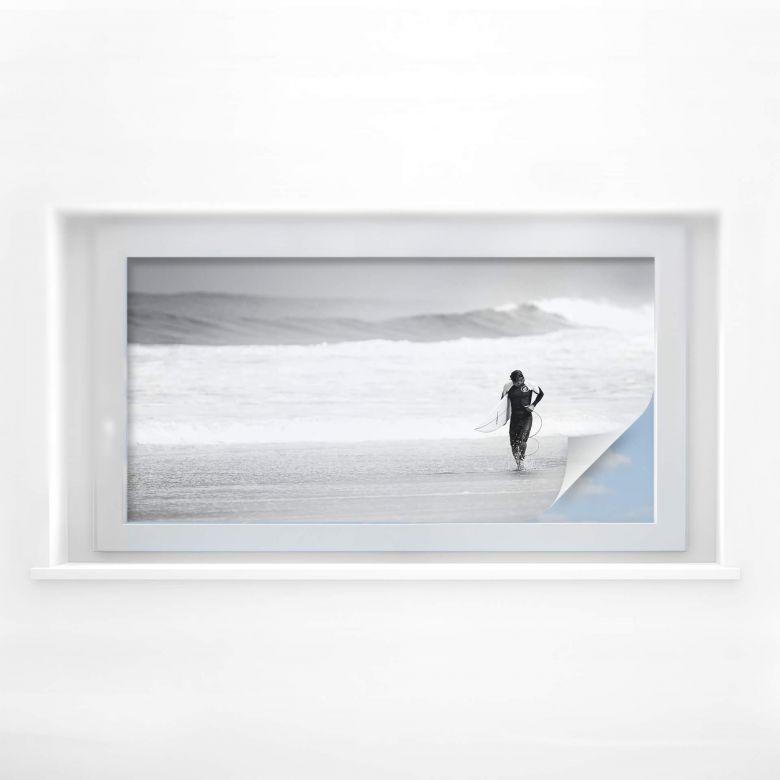 Sichtschutzfolie Surfing